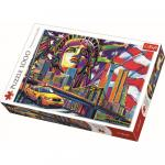 Puzzle Trefl 1000 New York in culori