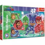 Puzzle Trefl 24 Maxi Eroi In Pijamale