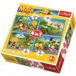 Puzzle Trefl 4 in 1 aventurile albinutei Maya