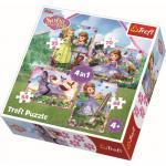 Puzzle Trefl 4 in 1 Lumea Sofiei