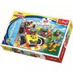 Puzzle Trefl Disney Mickey Mouse Raliu cu prietenii 60 piese