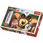 Puzzle Trefl 60 O zi fericita cu Masha