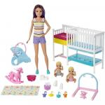 Papusa Barbie gama Family camera bebelusului papusa