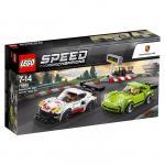 Lego Porsche 911 RSR si 911 Turbo