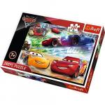 Puzzle Trefl 200 pe drumul victoriei Cars 3