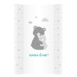 Saltea de infasat bebe cu intaritura 70x50 Klups Little Bears 003