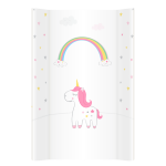 Saltea de infasat bebe cu intaritura 70x50 Klups Unicorns 005