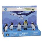 Set 5 figurine Pinguini Collecta