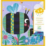 Set creativ de razuit Insecte prietenoase Djeco