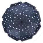 Umbrela pentru carucior 82 cm UV 50+ Stelute Marin Fillikid