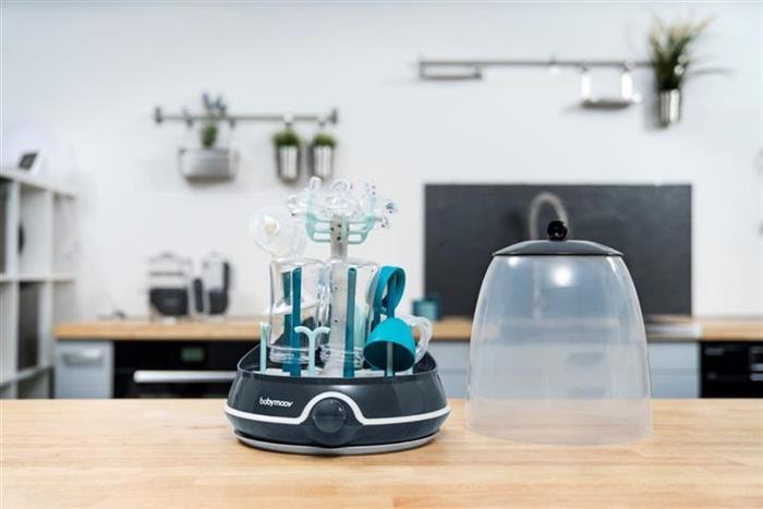 Sterilizator electric si uscator de biberoane 2 in 1 Turbo Babymoov