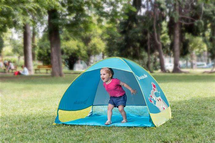 Cort Anti UV Tent Blue Badabulle imagine