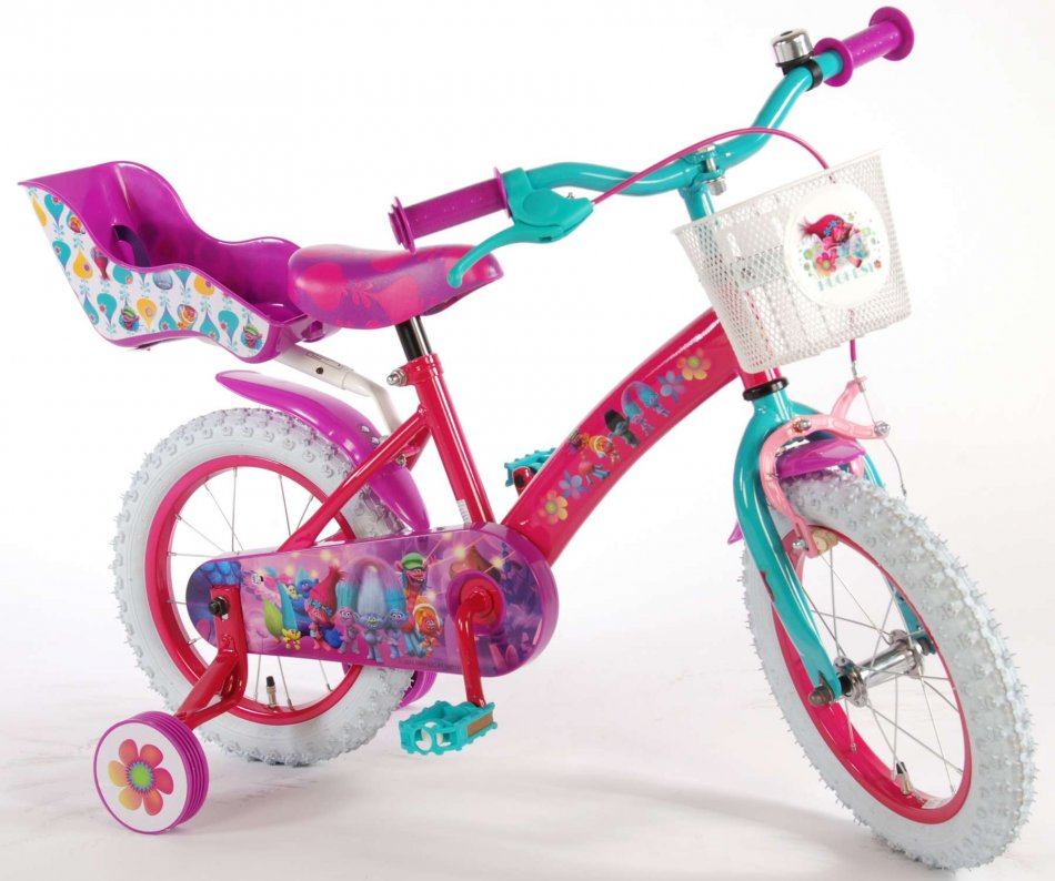 Bicicleta pentru fetite EL Trolls 16 inch