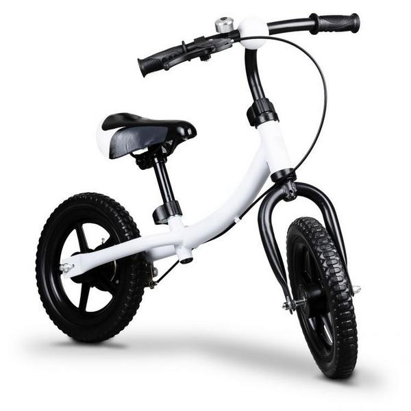 Bicicleta fara pedale Ecotoys Bw 1122 Alb