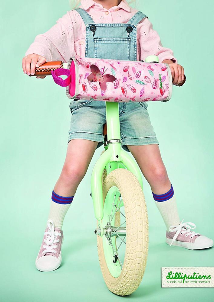 Gentuta pentru bicicleta Louise roz