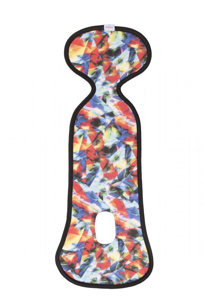 Husa antitranspiratie pentru scaun auto 9-18 kg Paddix Multicolor