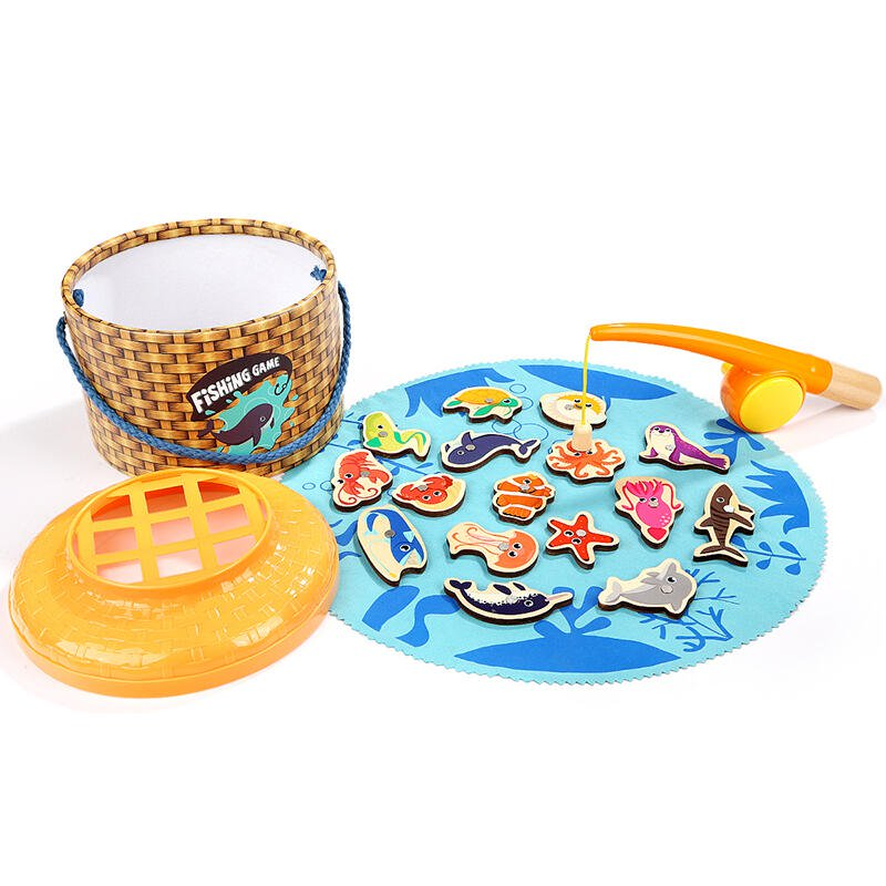 Joc magnetic de pescuit - 20 piese
