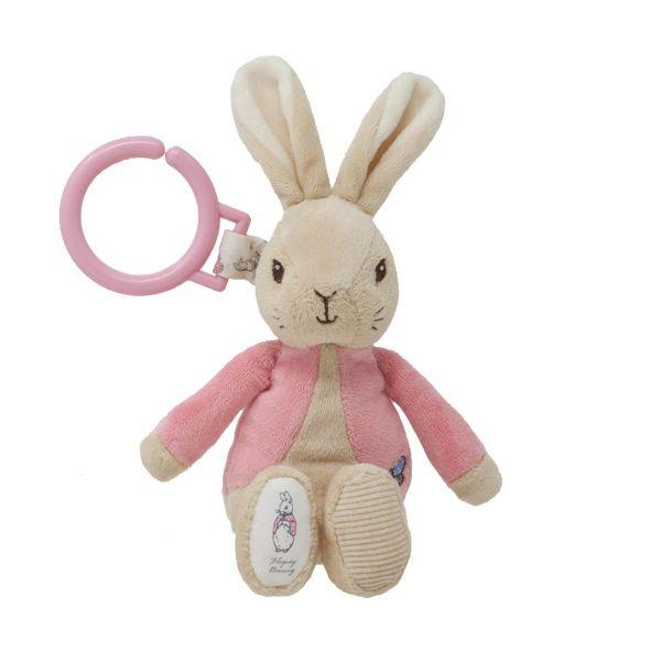 Jucarie din plus atasabila cu vibratii 22 cm Flopsy Rabbit - 2