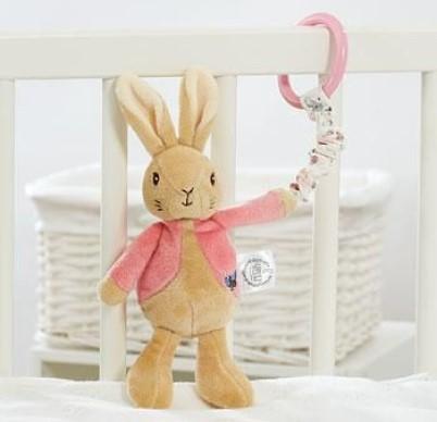Jucarie din plus atasabila cu vibratii 22 cm Flopsy Rabbit - 1