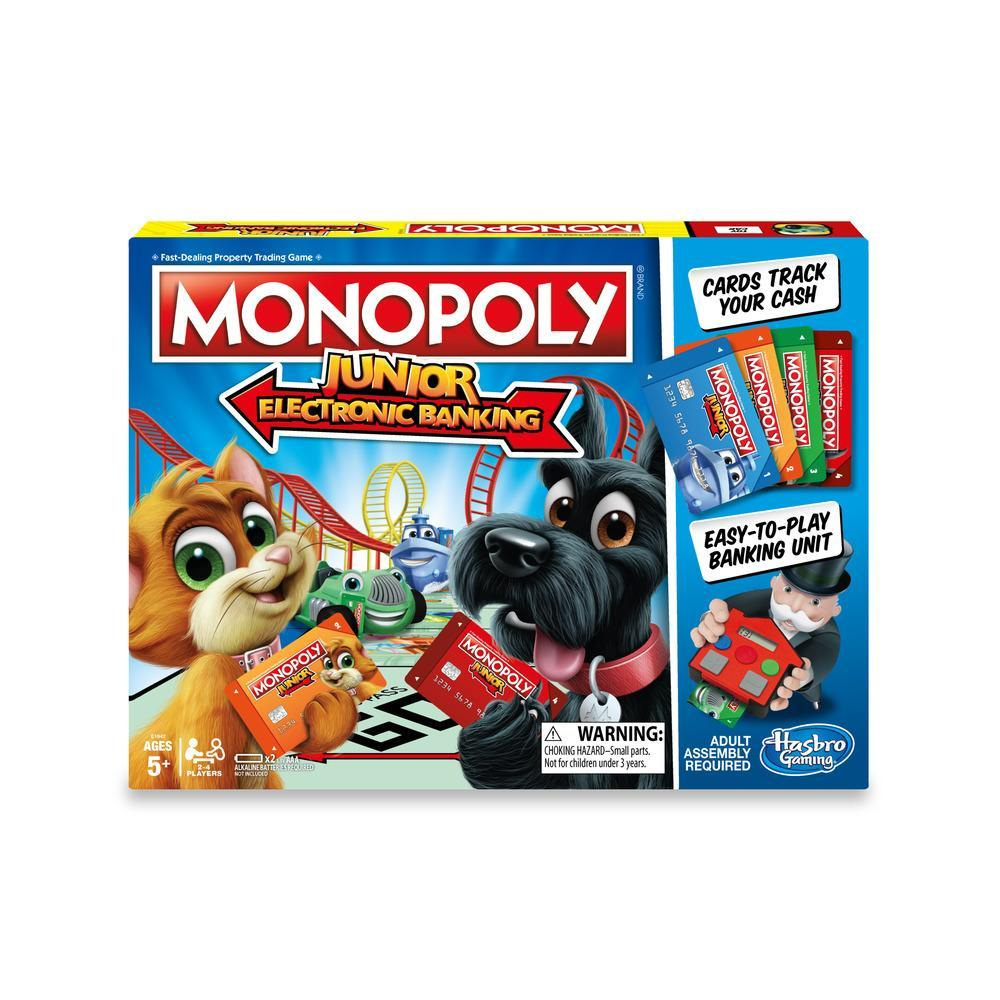 Monopoly Junior Banca Electronica Limba Romana