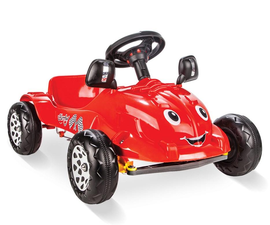 Masinuta cu pedale Herby mica Rosie - 1
