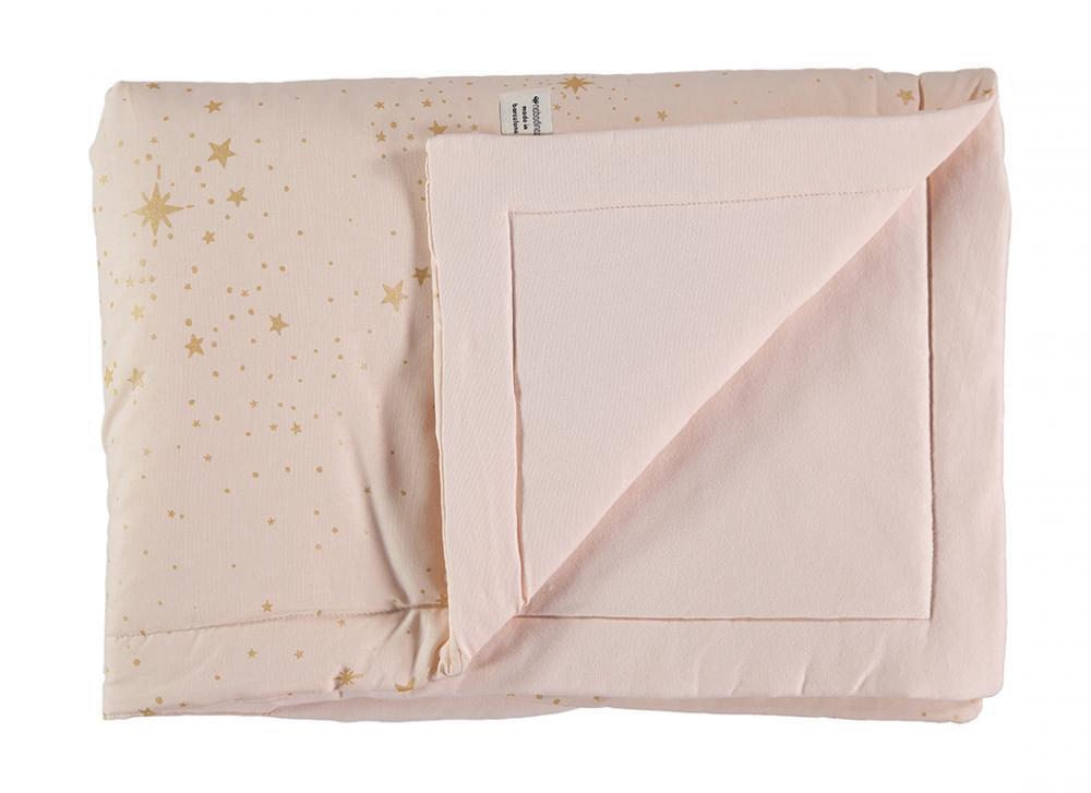 Paturica Stella crem cu roz 70x70cm