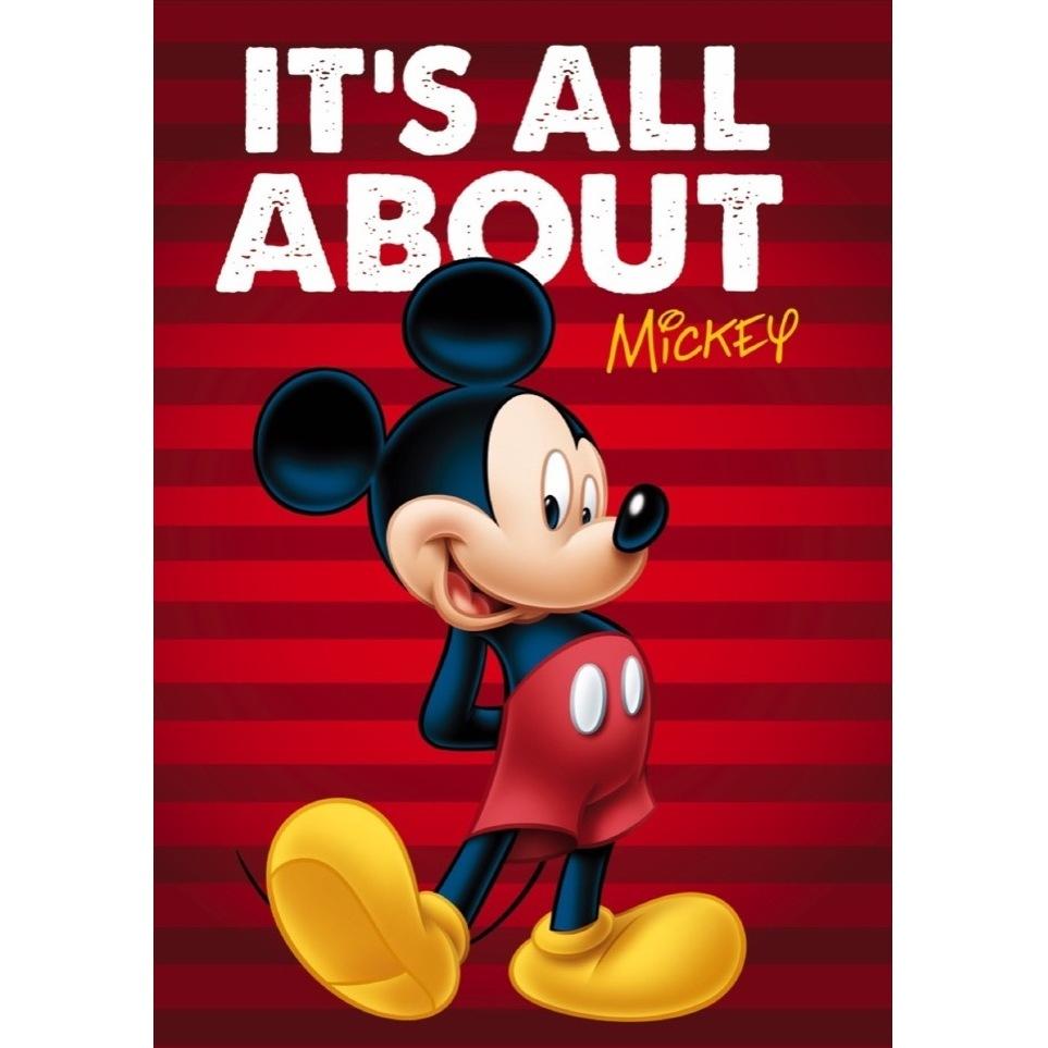 Paturica copii Mickey Red Star