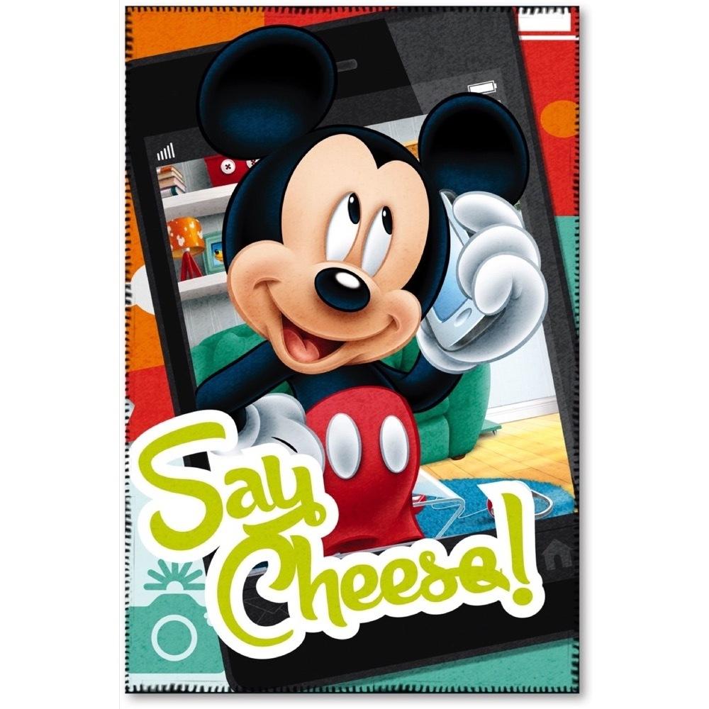 Paturica copii Mickey Say Cheese Star
