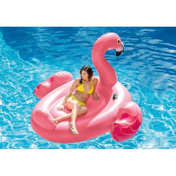 Saltea gonflabila Flamingo Intex 218 x 211 x 137 cm imagine