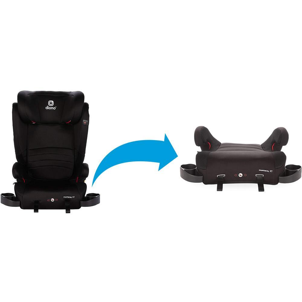 Scaun auto cu Isofix 15-36 kg Diono Monterey XT Fix Black