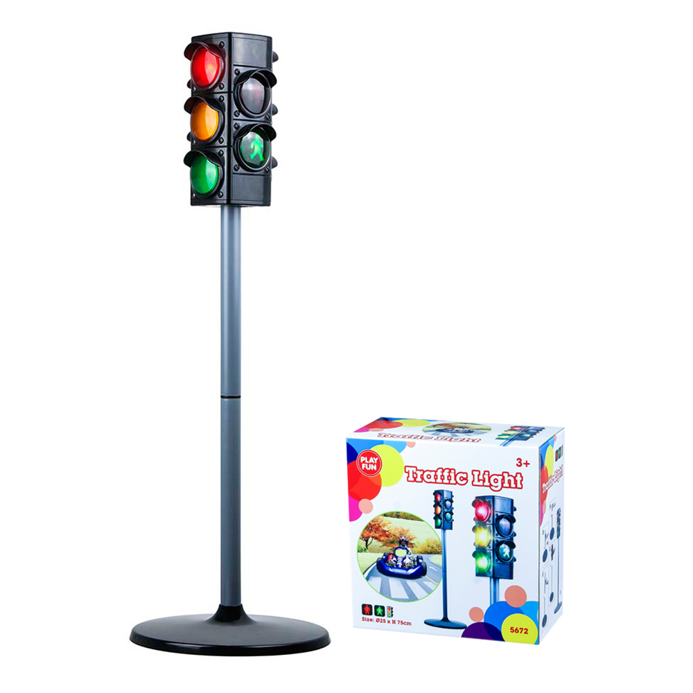 Semafor cu lumini PlayFun Traffic Light
