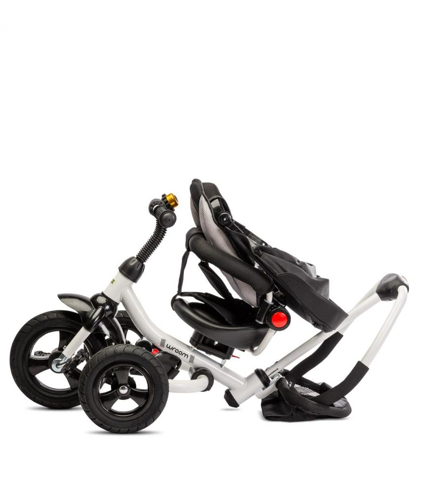 Tricicleta pliabila cu scaun reversibil Toyz by Caretero Wroom Orange imagine