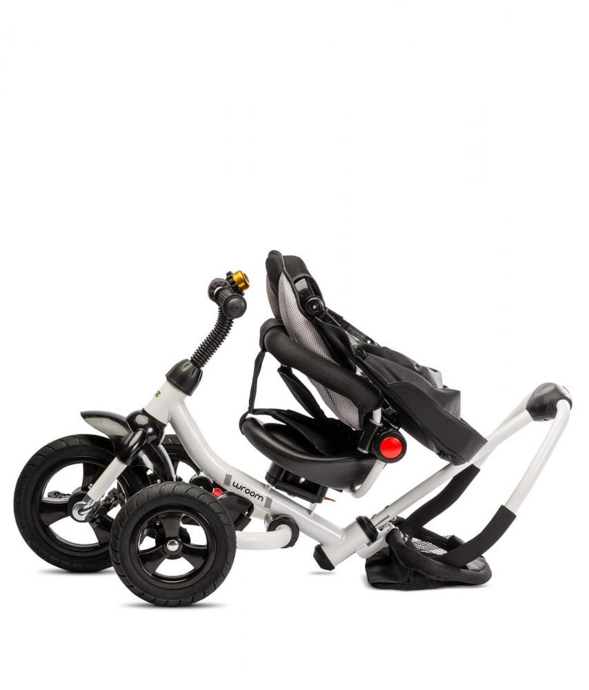 Tricicleta Pliabila Cu Scaun Reversibil Toyz By Caretero Wroom Turquoise