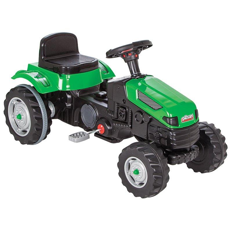 Tractor cu pedale pentru copii Active Green