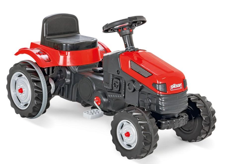 Tractor cu pedale pentru copii Active Red - 4