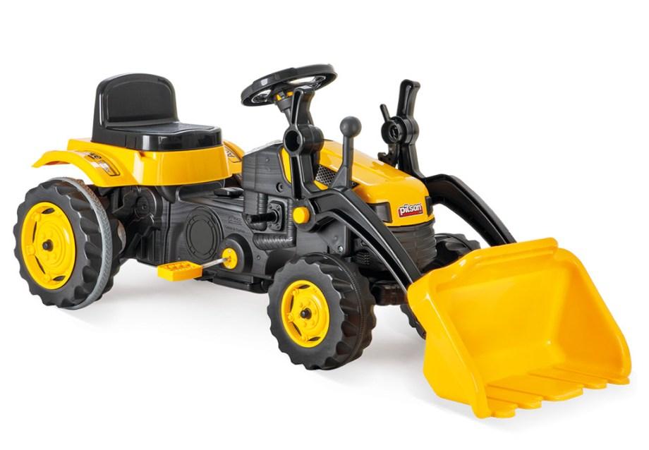 Tractor cu pedale si cupa Pilsan Active Galben - 2