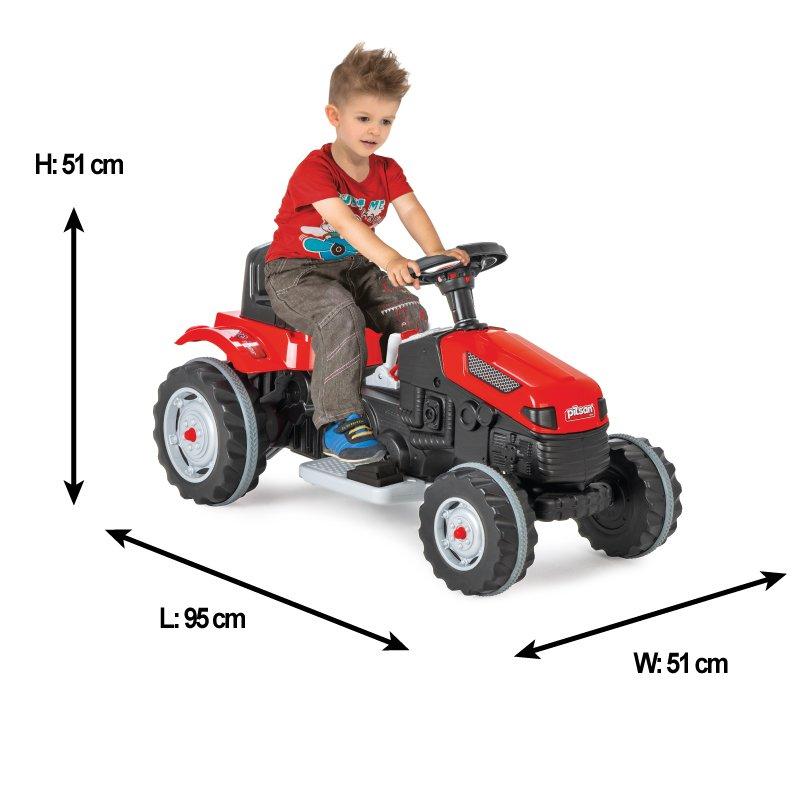 Tractor electric pentru copii Active Red - 7
