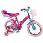 Bicicleta pentru fetite E&L Trolls 16 inch