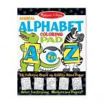 Bloc de desenat Alfabetul animalelor Melissa & Doug