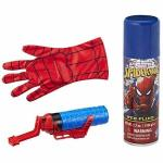 Jucarie manusa Spiderman Super Web Slinger cu panza 2 in 1 Hasbro