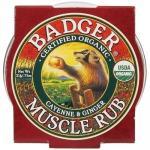 Mini balsam masaj dureri musculare cu ardei Cayenne si ghimbir Badger21 g