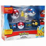 Set curea cu figurine si bile aditionale Pokemon