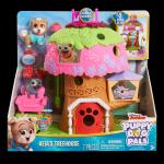 Set de joaca casuta din copac Puppy Dog Pals