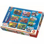 Puzzle Trefl 10 in 1 Patrula catelusilor