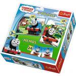 Puzzle Trefl 2 in 1 Memo Thomas si prietenii