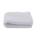 Paturica tricot pentru patuturi Chicco Light Grey 0luni+