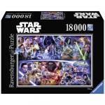 Puzzle Star Wars I-Vii 18000 piese