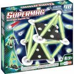 Set constructii Classic Glow Supermag 48 piese
