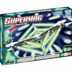 Set constructii Classic Glow Supermag 72 piese