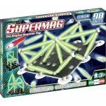 Set constructii Classic Glow Supermag 98 piese